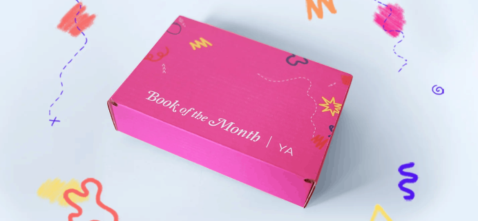 Book of the Month YA Subscription Update!
