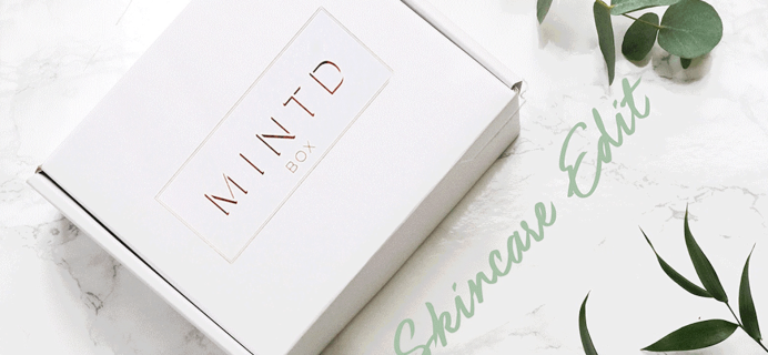 MINTD Box March 2020 Full Spoilers!