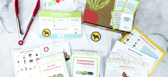 Raddish Kids Cooking Subscription Box Review + Coupons – March 2020