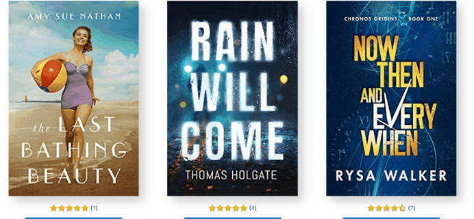 Amazon First ReadsMarch 2020 Selections: 1 Book FREE for Amazon Prime Members