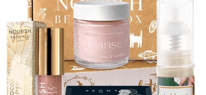 Nourish Beauty Box March 2020 Full Spoilers + Coupon!