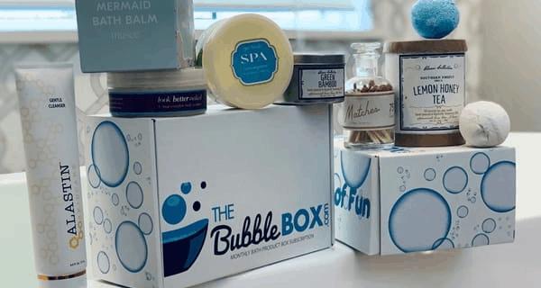 The Bubble Box – Review? Bath & Body Subscription!