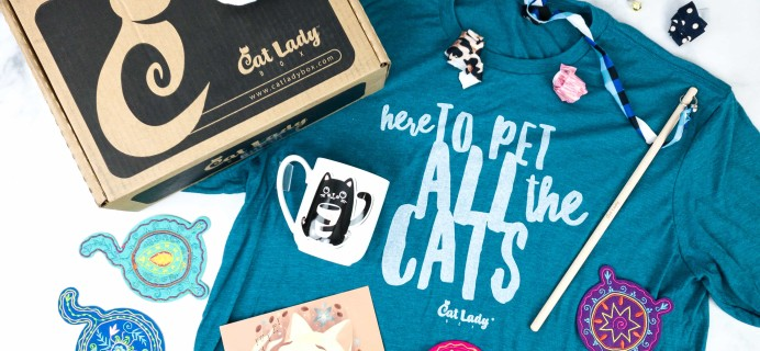 Cat Lady Box March 2020 Subscription Box Review