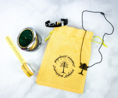 Fandom of the Month Club January 2020 Subscription Box Review – LORD OF THE RINGS