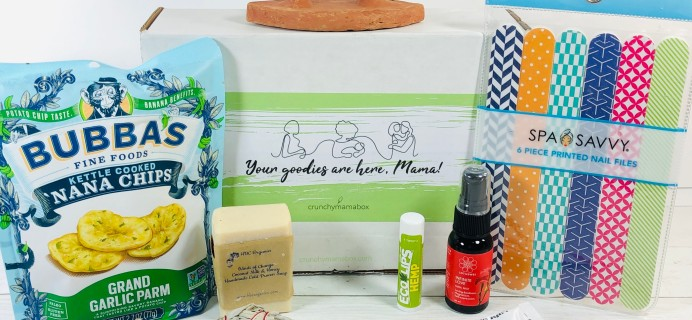 Crunchy Mama March 2020 Subscription Box Review