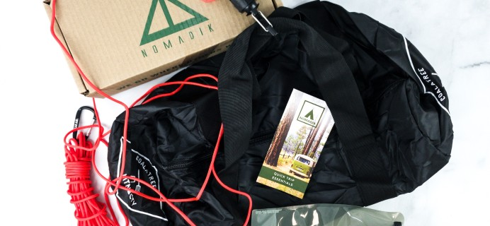 Nomadik February 2020 Subscription Box Review + Coupon