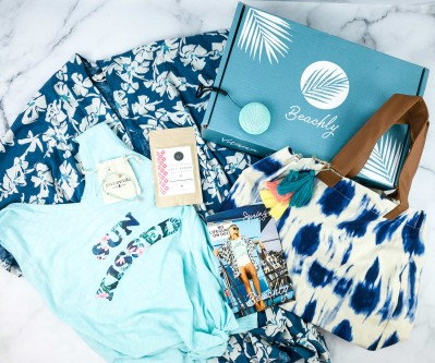 Beachly Women's Box Spring 2020 Subscription Box Review + Coupon!