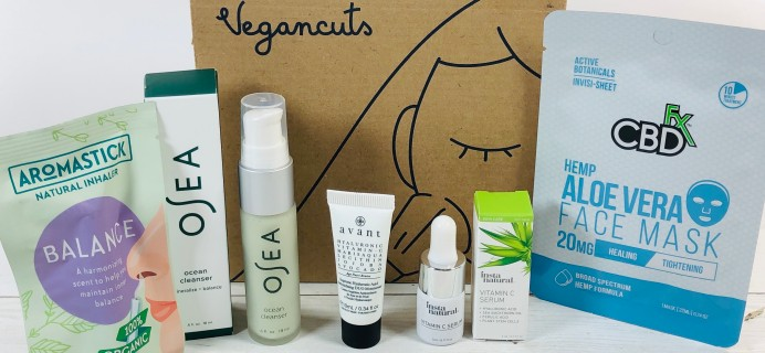 Vegancuts Beauty Box March 2020 Subscription Box Review + Coupon