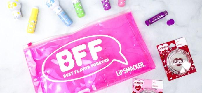 Lipsmacker BFF Lip Balm Spring 2020 Subscription Box Review