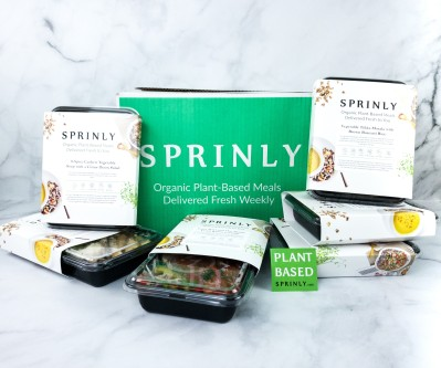 Sprinly Plant-Forward Meal Box Review