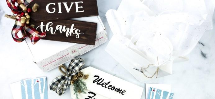 Confetti Grace November 2019 Subscription Box Review + Coupon
