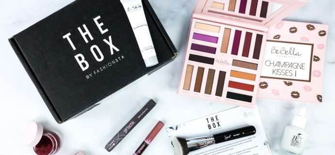 THE BOX By Fashionsta February 2020 Subscription Box Review