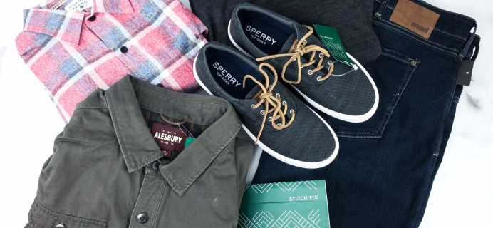 Stitch Fix Men April 2020 Review