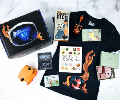 The Curiosity Box by VSauce Spring 2020 Subscription Box Review
