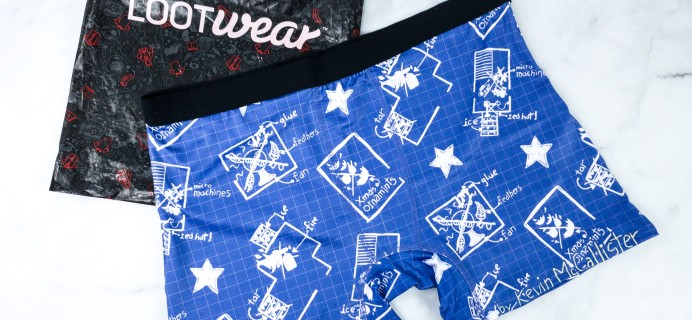 Loot Undies December 2019 Subscription Review + Coupon