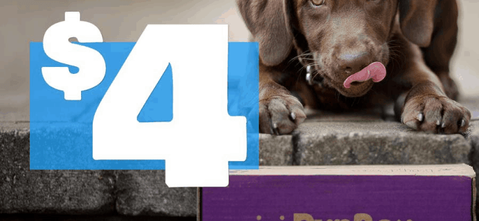 PupBox National Puppy Day Sale: First PupBox $4!