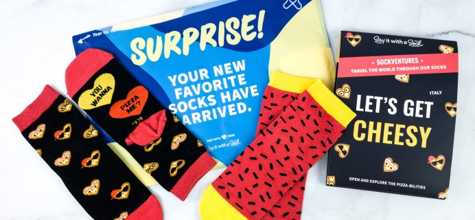 Say It With A Sock Kids March 2020 Sockscription Review + Coupon
