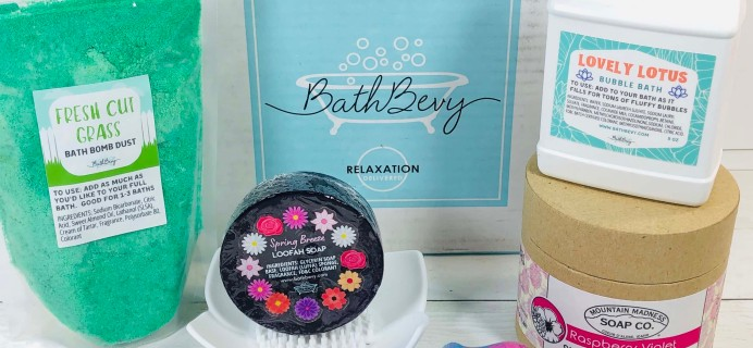 Bath Bevy March 2020 Subscription Box Review + Coupon