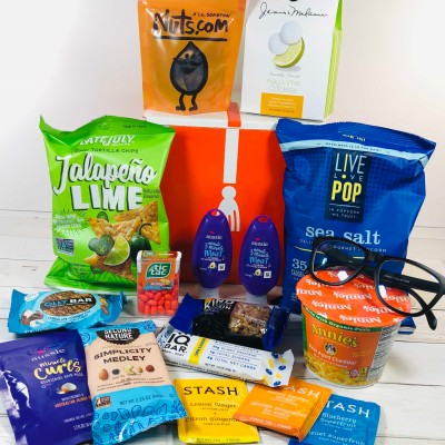 CampusCube College Care Package March 2020 Snacks & Essentials Box Review + Coupon!