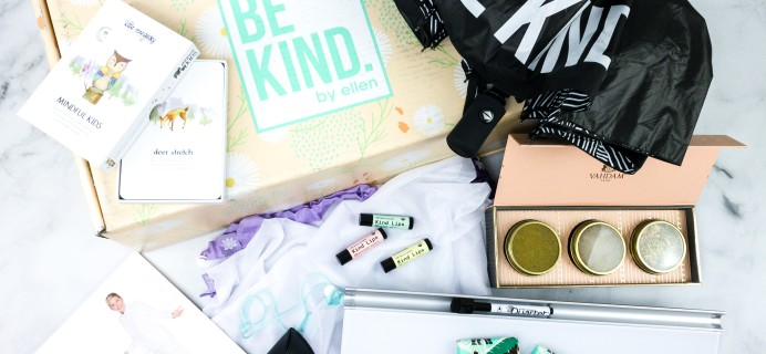 BE KIND by Ellen Spring 2020 Subscription Box Review