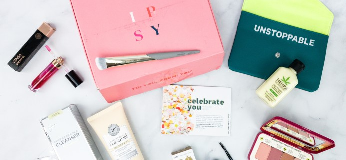 Ipsy Glambag Plus March 2020 Review
