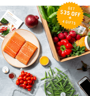 Sunbasket Coupon: Save $35 + FREE Gifts!