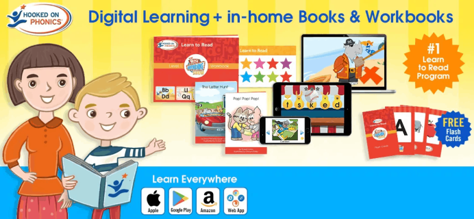 Hooked on Phonics Coupon: Get Your First Month For Just $1!