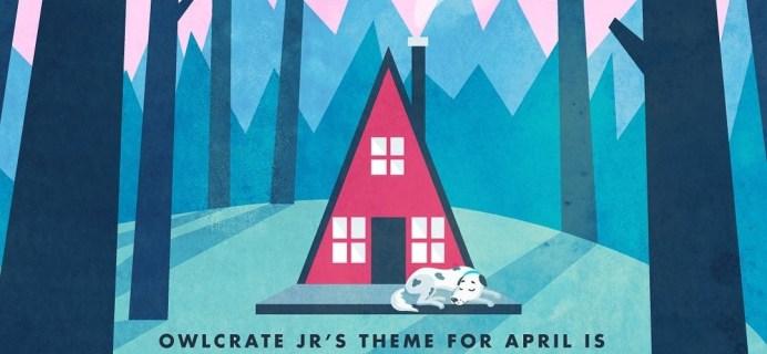 OwlCrate Jr. April 2020 Theme Spoilers + Coupon!