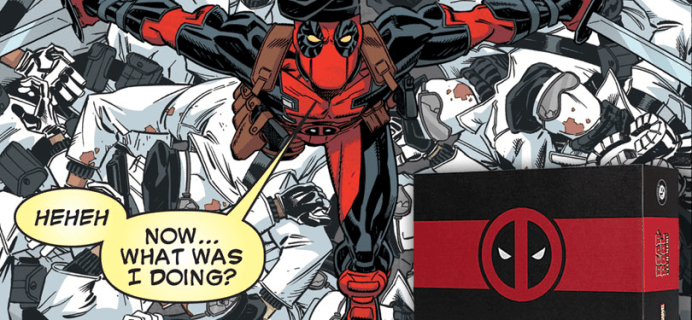 Deadpool Club Merc Fall 2020 Full Spoilers + Coupon!