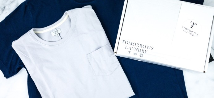 Tomorrows Laundry March 2020 Subscription Box Review + Coupon