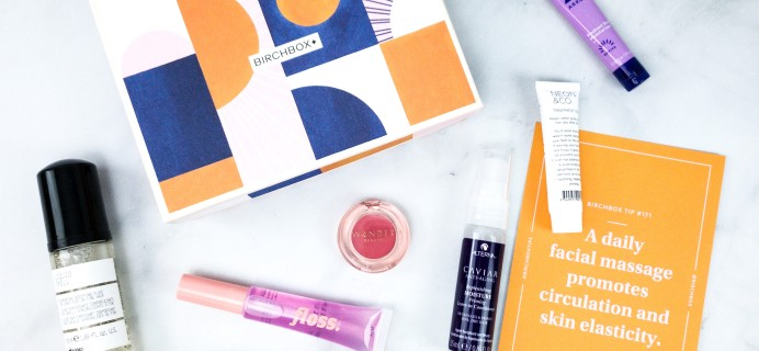 March 2020 Birchbox Subscription Box Review + Coupon – Curated Box