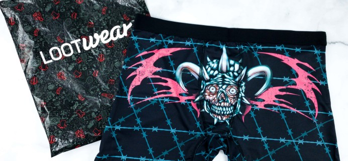 Loot Undies August 2019 Subscription Review + Coupon
