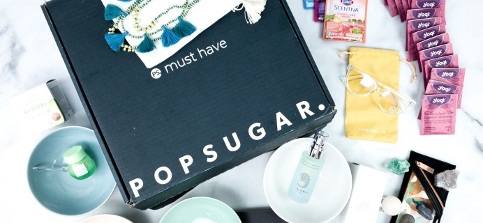 POPSUGAR Must Have Box Spring 2020 Review & Coupon