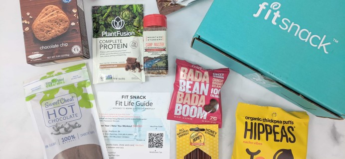 FitSnack February 2020 Subscription Box Review