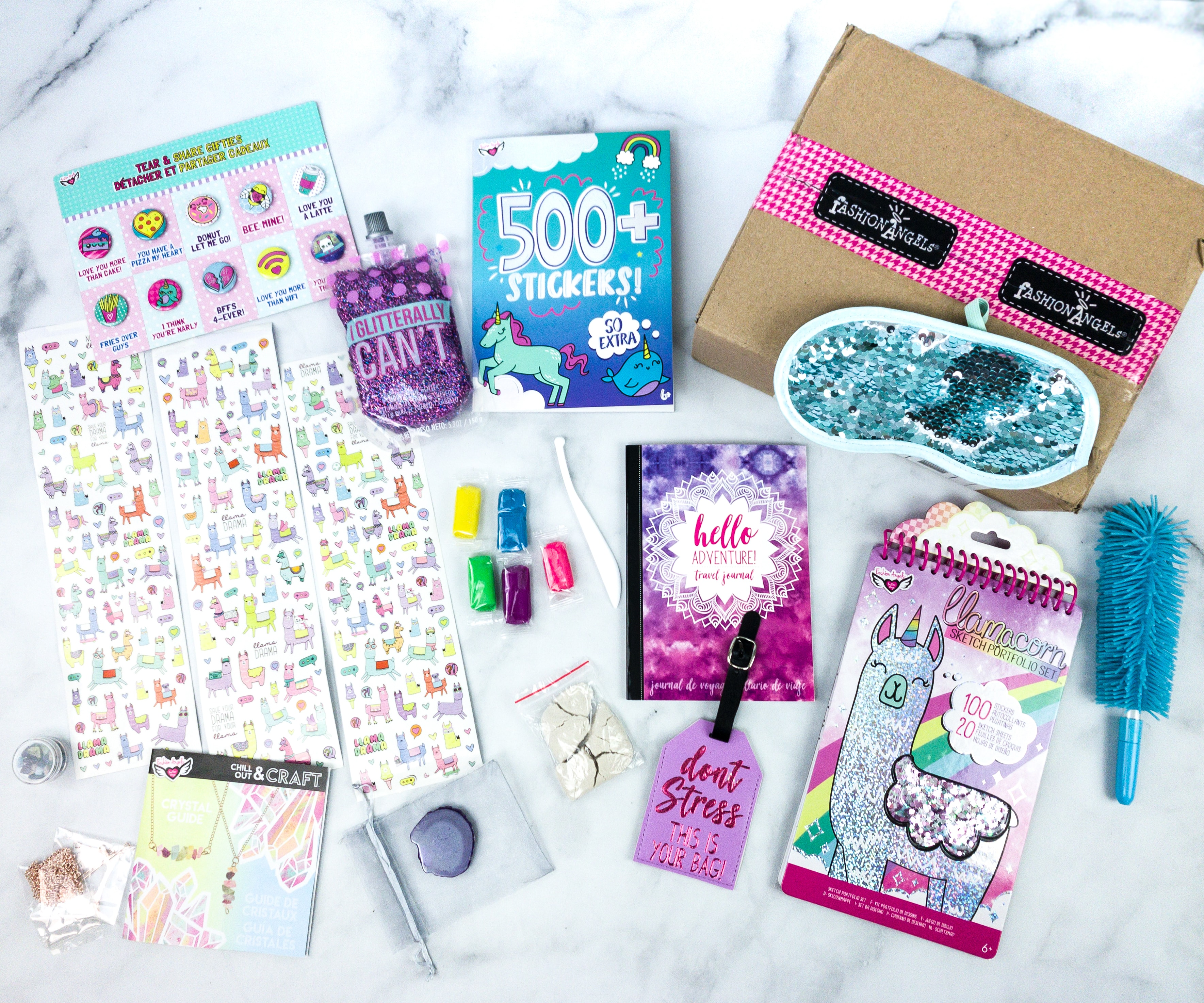 April 2020 Fashion Angels Find Your Wings Subscription Box Review Coupon Hello Subscription