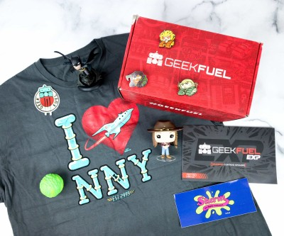 Geek Fuel EXP March 2020 Subscription Box Review
