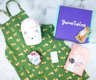 YumeTwins March 2020 Subscription Box Review + Coupon