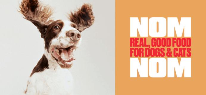 Nom Nom Coupon: Get 50% Off First Box Fresh Dog or Cat Food!