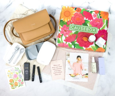 CAUSEBOX Spring 2020 Subscription Box Review + Coupon