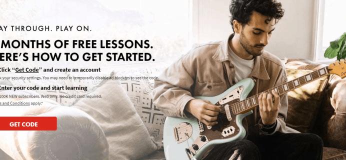 Fender Play Sale: 3 Months FREE Trial!