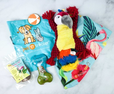Pet Treater Dog Pack March 2020 Subscription Box Review + Coupon