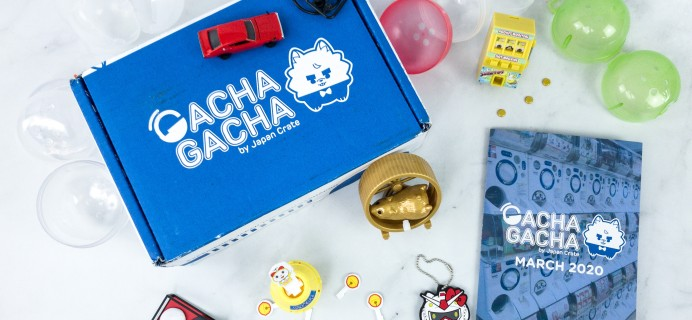 Gacha Gacha Crate March 2020 Subscription Box Review + Coupon