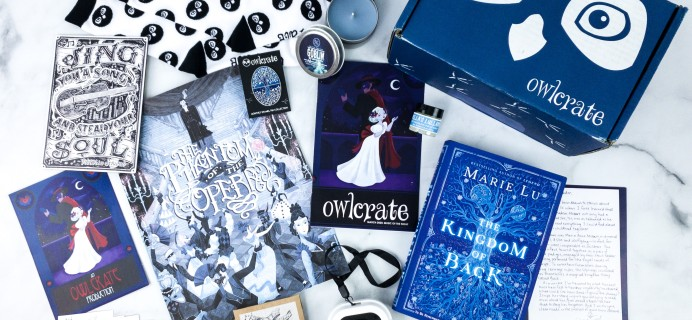 OwlCrate March 2020 Subscription Box Review + Coupon – MUSIC OF THE NIGHT