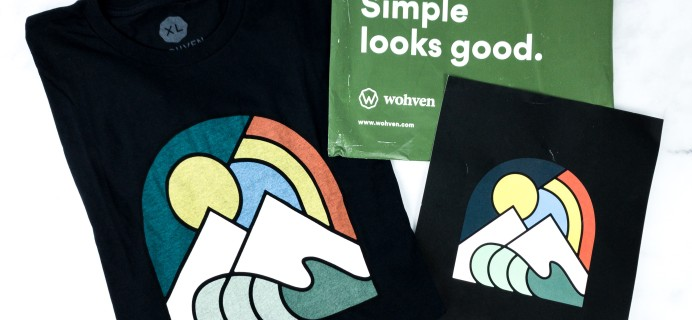 Wohven Men T-Shirt Subscription Review & Coupon – March 2020