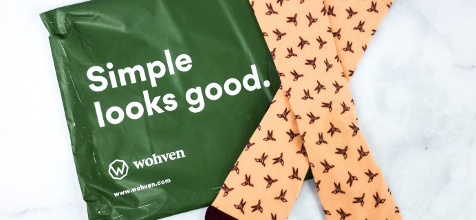 Wohven Socks Subscription March 2020 Review + Coupon!