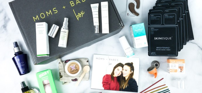 Moms + Babes Spring 2020 Subscription Box Review + Coupon
