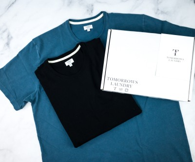 Tomorrows Laundry April 2020 Subscription Box Review + Coupon