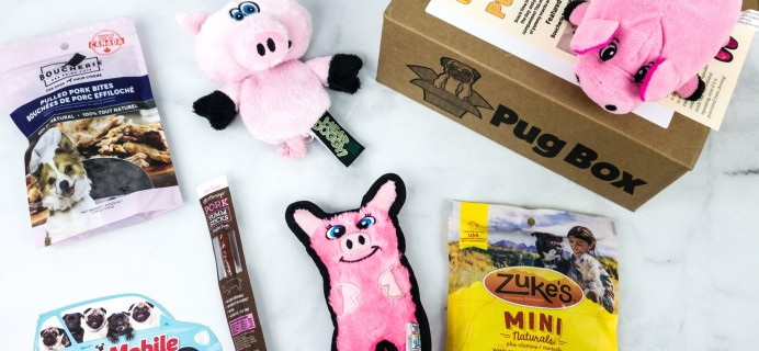 Pug Box March 2020 Subscription Box Review + Coupon