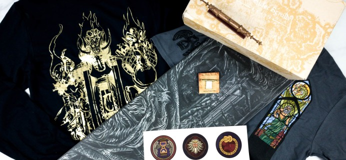 Loot Crate's The Elder Scrolls Crate February 2020 Review + Coupon – DIVINE