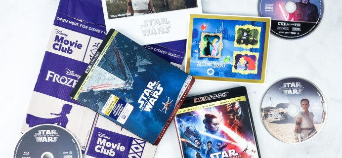 Disney Movie Club March 2020 RISE OF SKYWALKER Review + Coupon